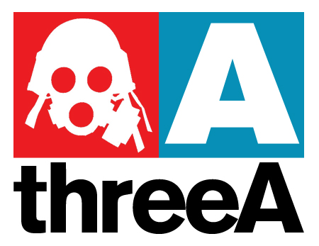 threeA的Logo