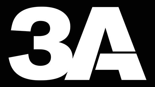 3A自2013年啟用的新Logo