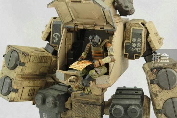 要塞-沙色版(Stronghold - Sand Version)和搭载的士兵