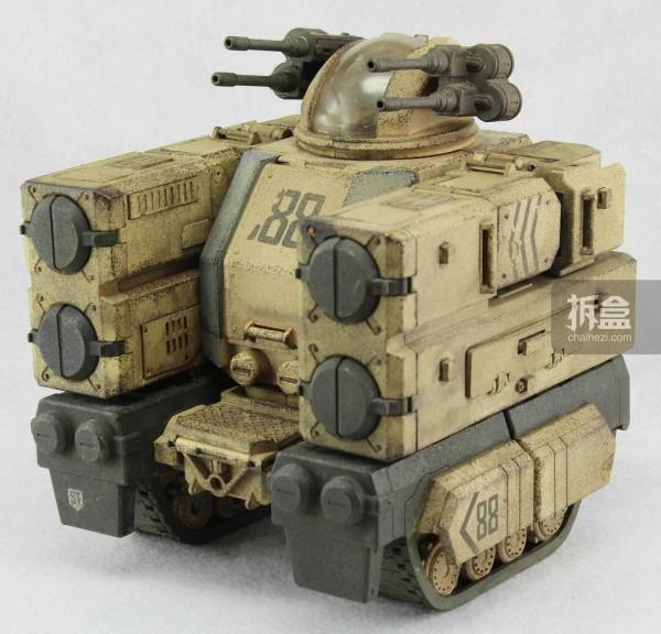 要塞-沙色版(Stronghold - Sand Version)战车状态