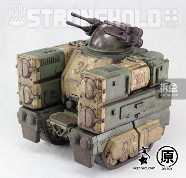 Ori Toy酸雨战争系列:要塞-陆战队版(Stronghold - Marine Version)战车状态