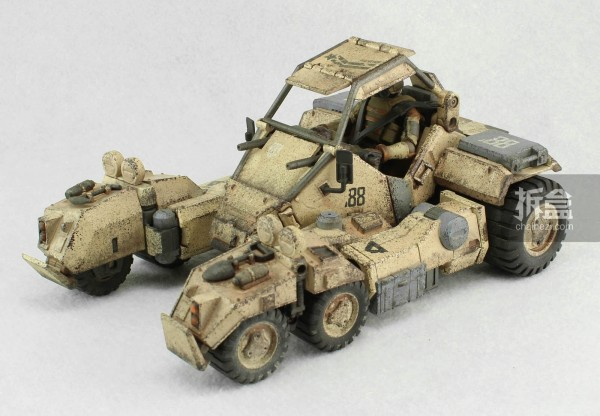 Ori Toy酸雨战争系列:Speeder 88 Mk II
