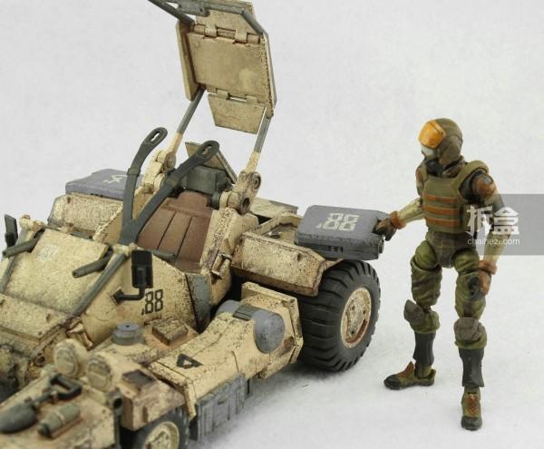 Ori Toy酸雨战争系列:Speeder 88 Mk2和搭载的士兵