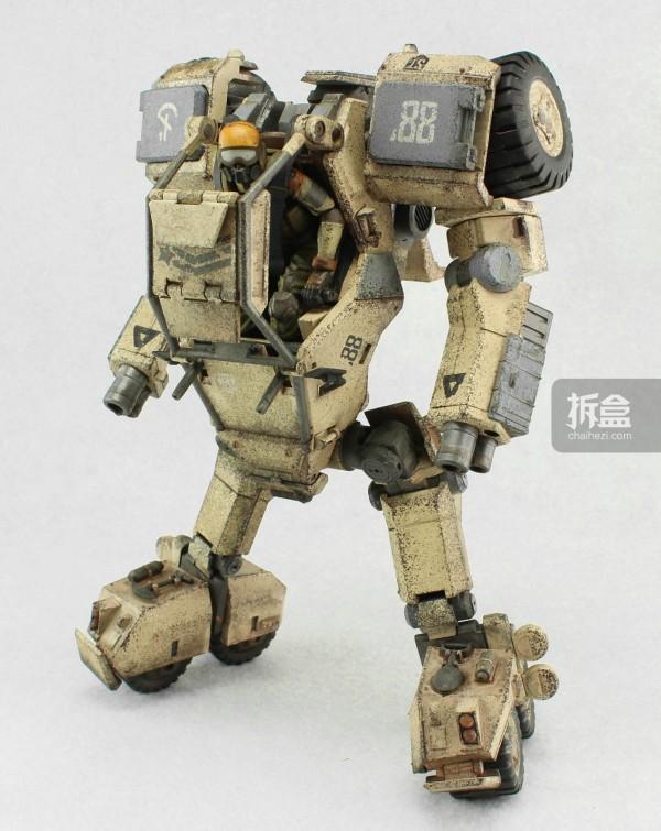 Ori Toy酸雨战争系列:Speeder 88 Mk 2和搭载的士兵
