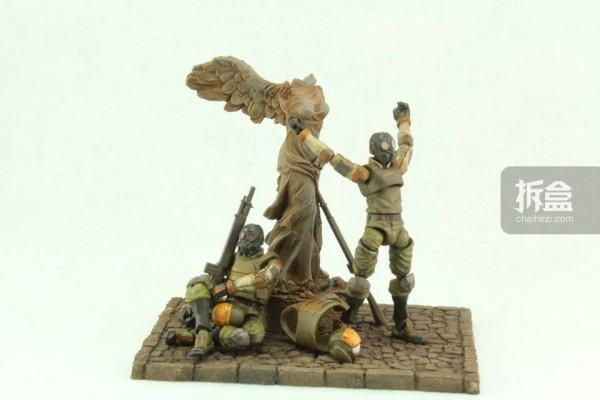 Ori Toy酸雨战争系列:士兵套装(The Winged Victory of Samothrace Set ),含地台