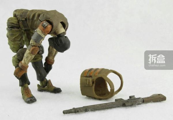 Ori Toy酸雨战争系列:士兵,防弹衣可脱