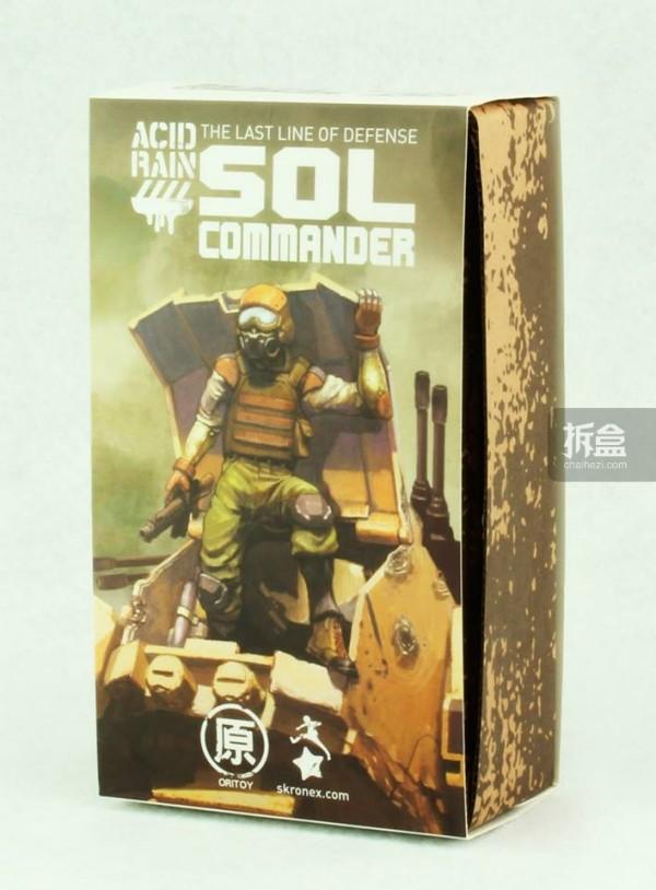 Ori Toy酸雨战争系列:指挥官的包装盒