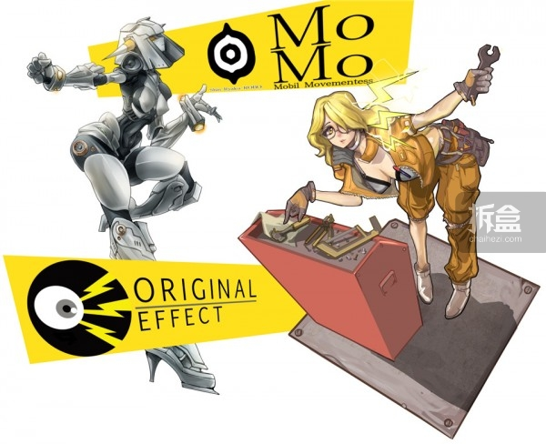 OE与MoMo合作的宣传图