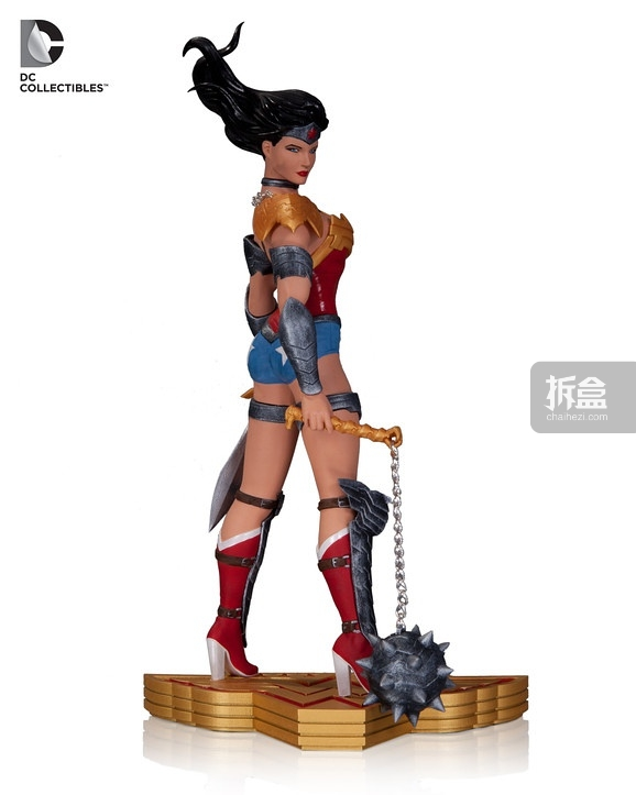 Wonder Woman Art of War statues, art from Cliff Chiang and Tony Daniel