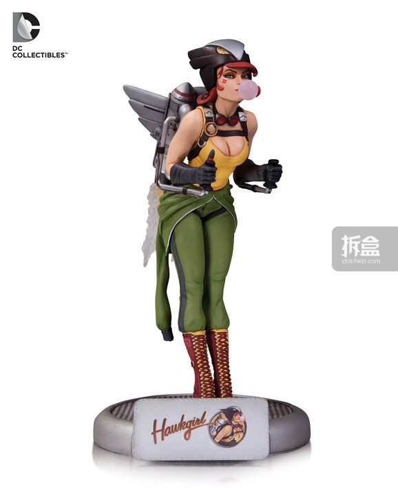 DC Bombshells: Hawkgirl statue (Mera will also be at SDCC)