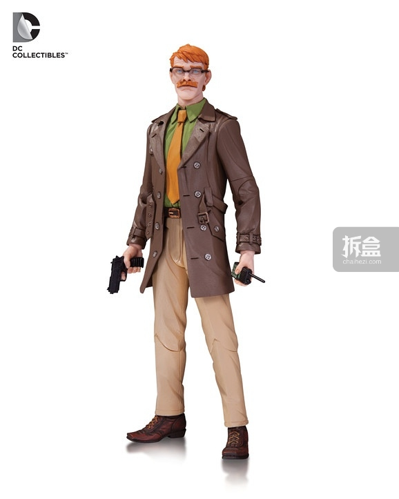 DC Designer Series: Greg Capullo - Commissioner Gordon figure