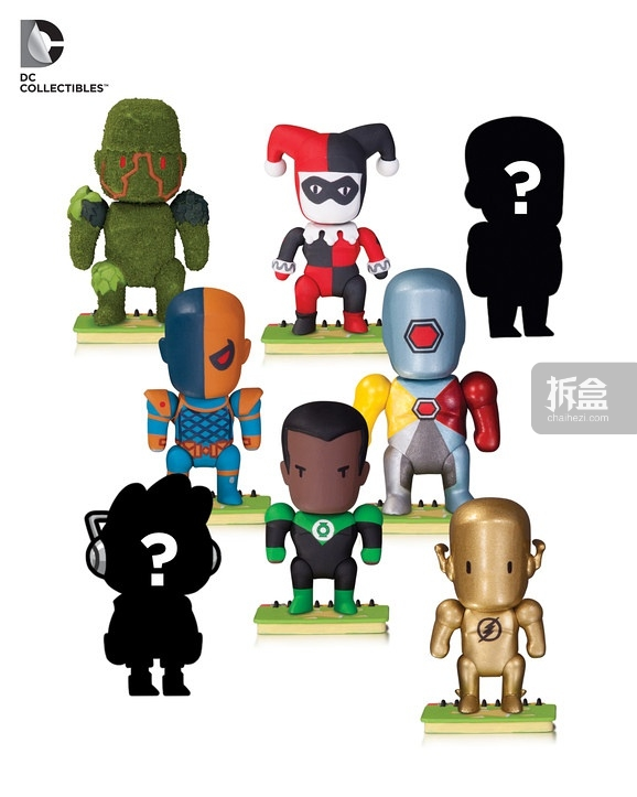 Scribblenauts Unmasked Series 5 figures