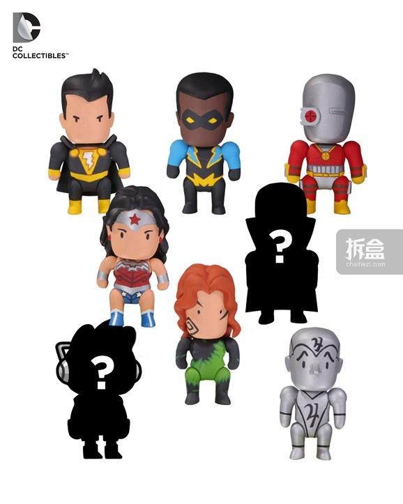 Scribblenauts Unmasked Series 6 figures