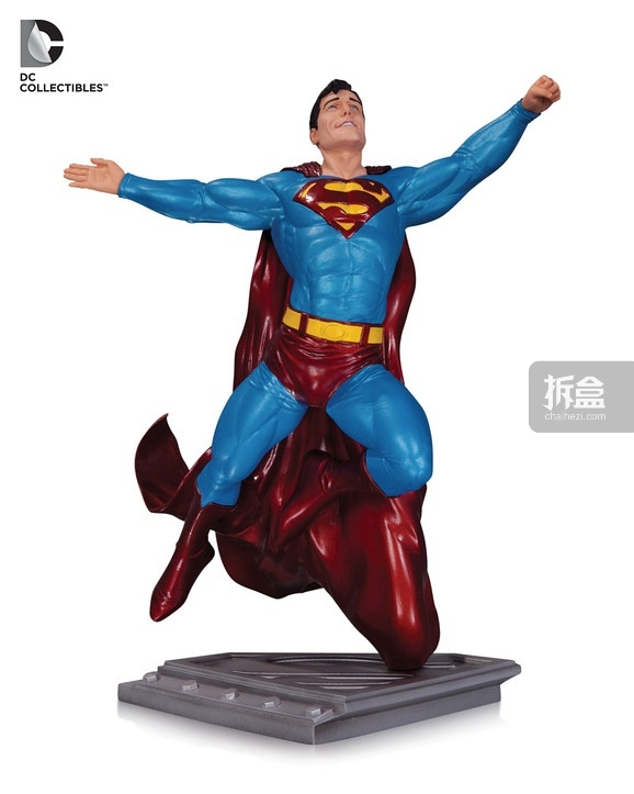 Superman: Man of Steel by Gary Frank statue