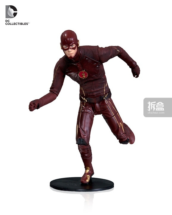The Flash action figure based on the Warner Bros. TV show on The CW