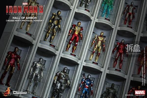 HotToys-ironman3-ArmorHall-07