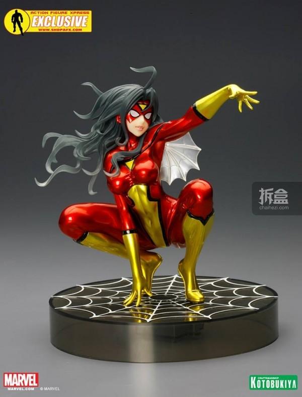 SDCC-Metallic-Spider-Woman-Bishoujo-Statue-001