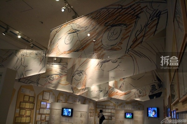 安彦良和的原画展示空间