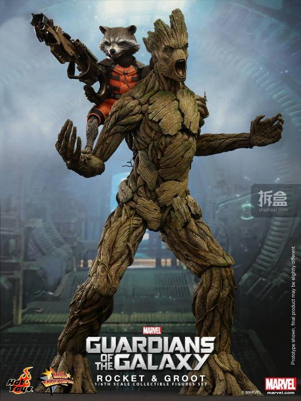 hottoys-GuarddiansGalaxy-Rocket-Groot-Set-001