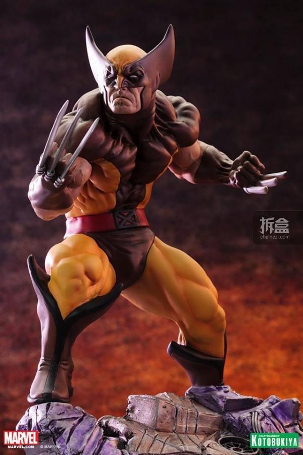 kotobukiya-Wolverine-Brown-001