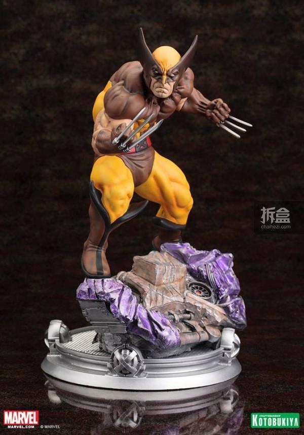 kotobukiya-Wolverine-Brown-002