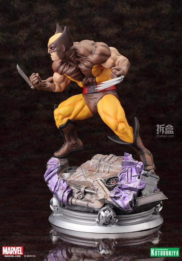kotobukiya-Wolverine-Brown-006