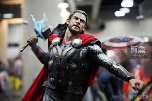《雷神2:黑暗世界 Thor: The Dark World》电影版雷神索尔静态雕像