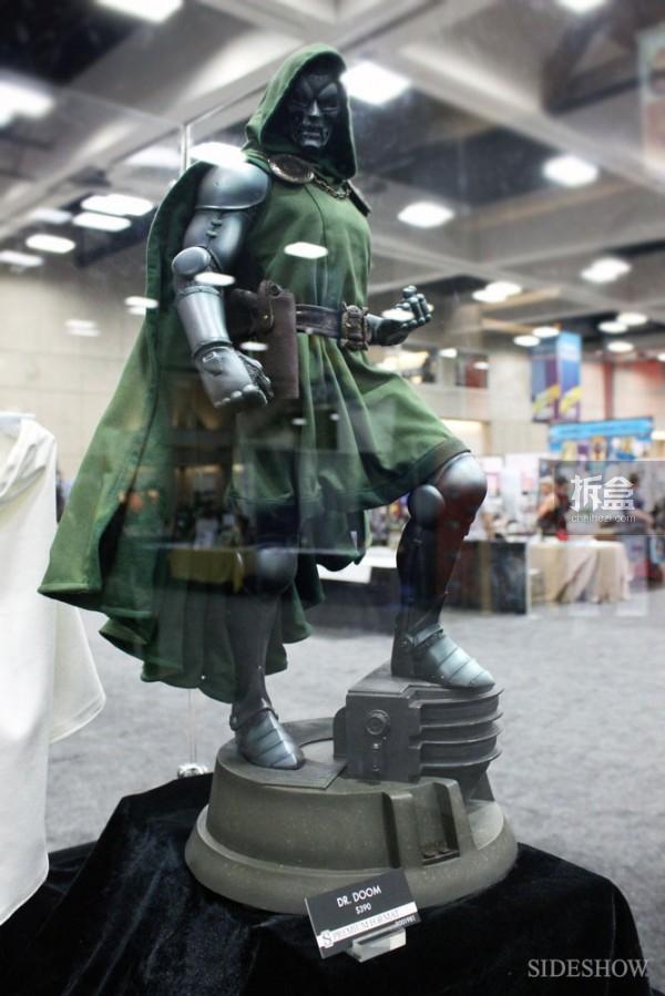 Dr.Doom毁灭博士白金版雕像
