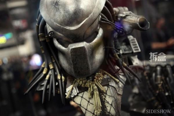 铁血战士Legendary系列面具版胸像