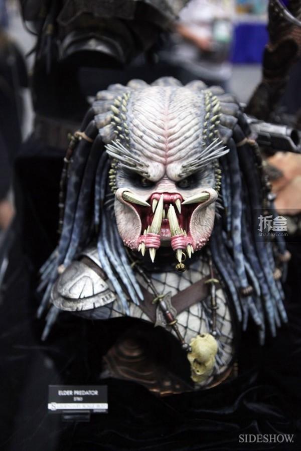 1/2 长老铁血胸像(Elder Predator Legendary Scale Bust)