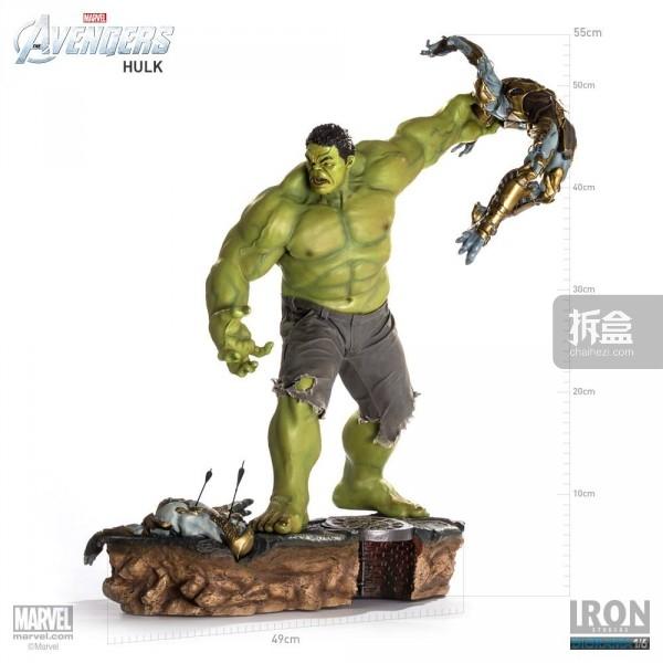IronStudios-averagers-statue-hulk-017