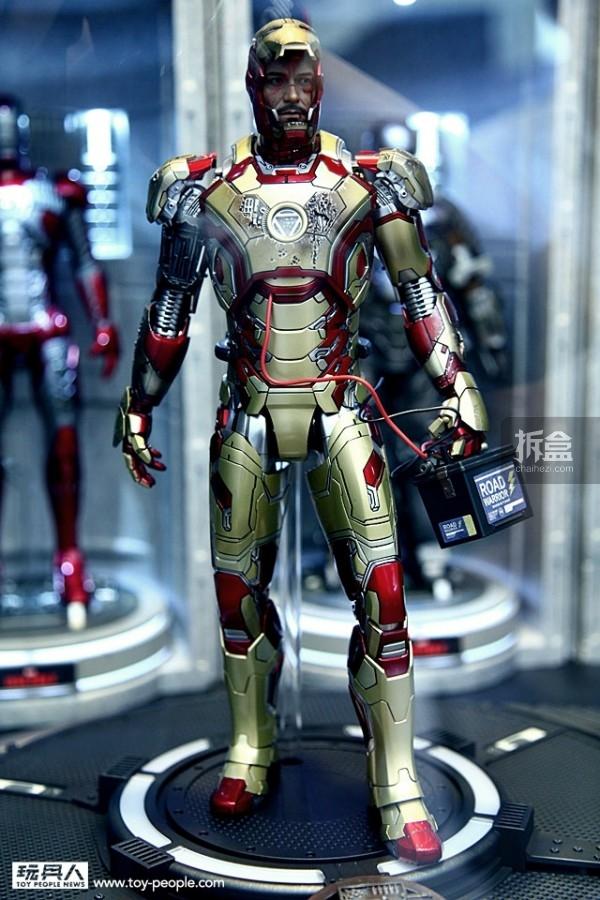 《钢铁侠3》合金珍藏人偶 Mark XLII