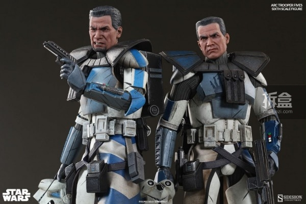 sideshow-ARC-CloneTroopers-Echo-Fives