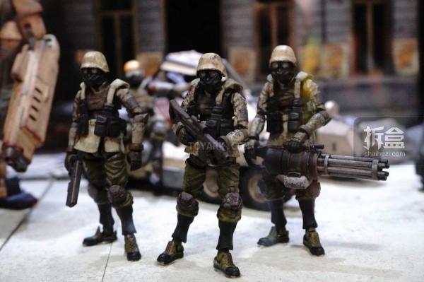 酸雨战争系列的Agurts步兵