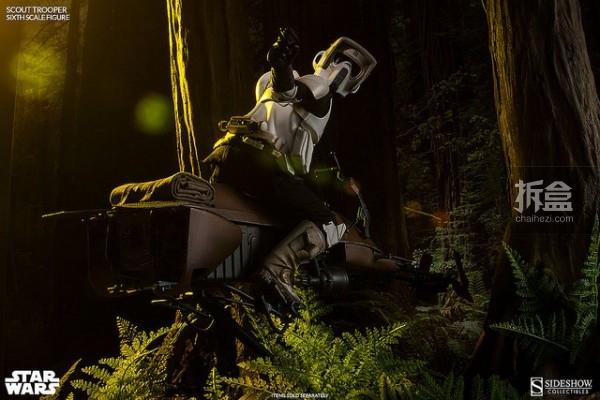 sideshow--Scout Trooper-Speeder Bike (56)