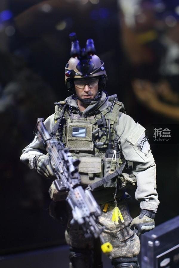1/6 美国陆军第75游骑兵团-机枪手 2014广州会场版