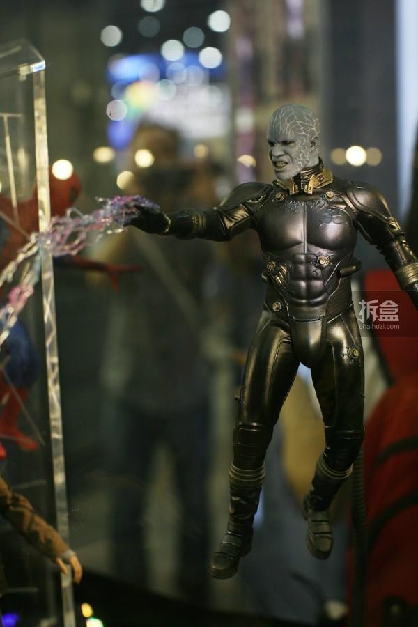《超凡蜘蛛侠2》反派电光人Electro