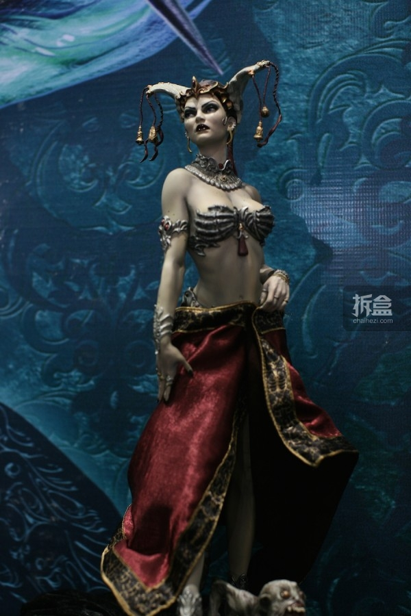 死亡法庭 死亡女王 Queen of the Dead PF系列雕像