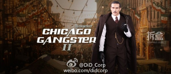 DID- CHICAGO GANGSTER II (Robert)
