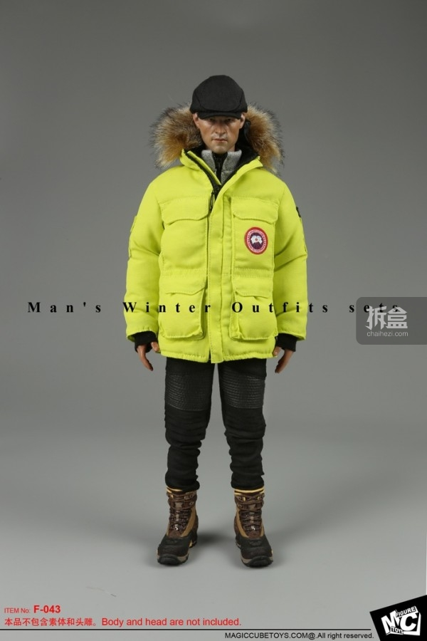 MCTOYS-Man Winter Outfits