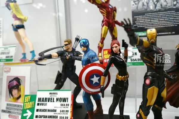 NYCC 2014 Kotobukiya Marvel  (8)