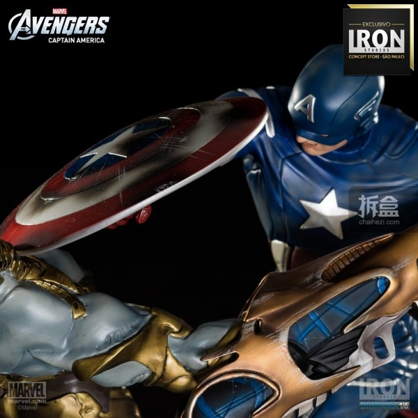 ironstudio-Avengers Captain America Battle-Diorama-001