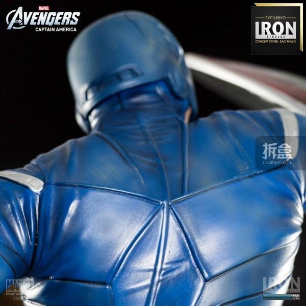 ironstudio-Avengers Captain America Battle-Diorama-002