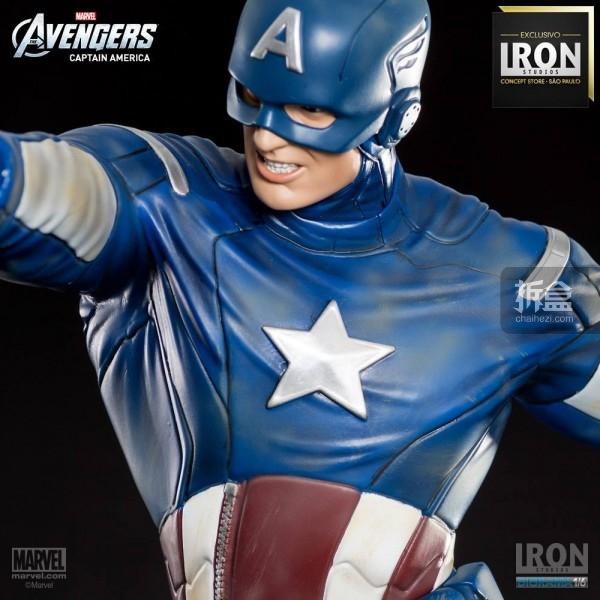 ironstudio-Avengers Captain America Battle-Diorama-003