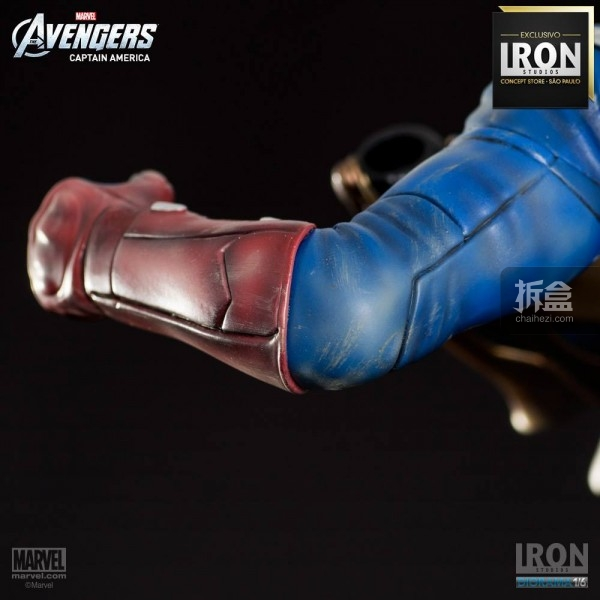 ironstudio-Avengers Captain America Battle-Diorama-010