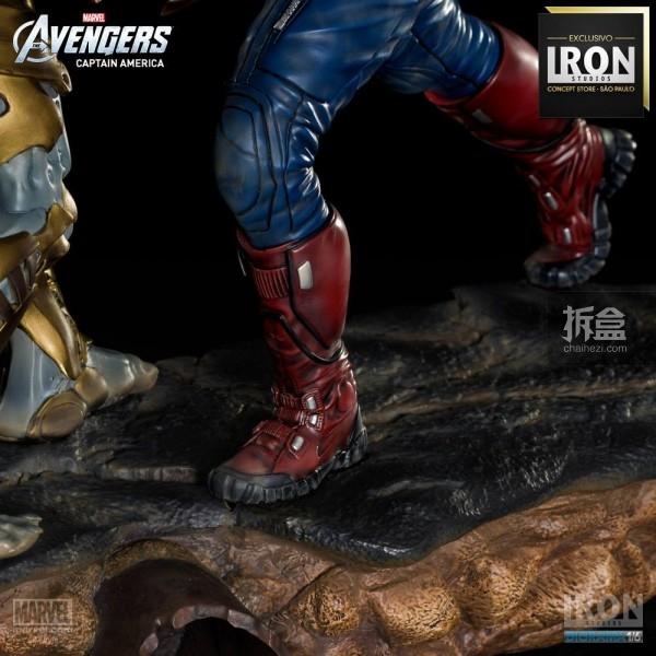 ironstudio-Avengers Captain America Battle-Diorama-012