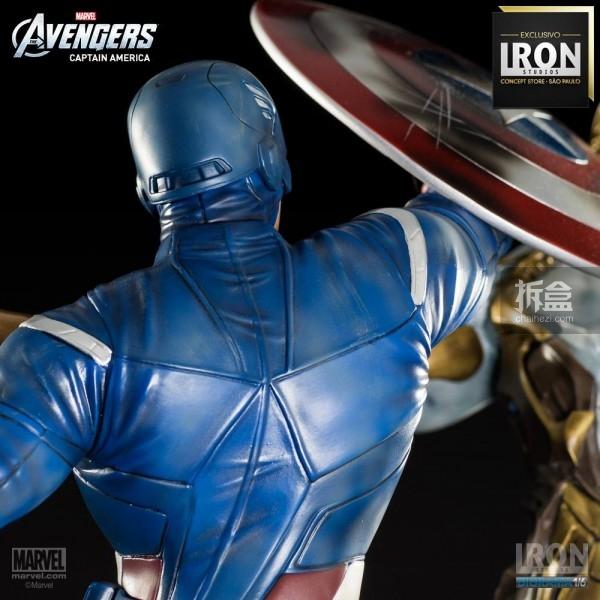 ironstudio-Avengers Captain America Battle-Diorama-014