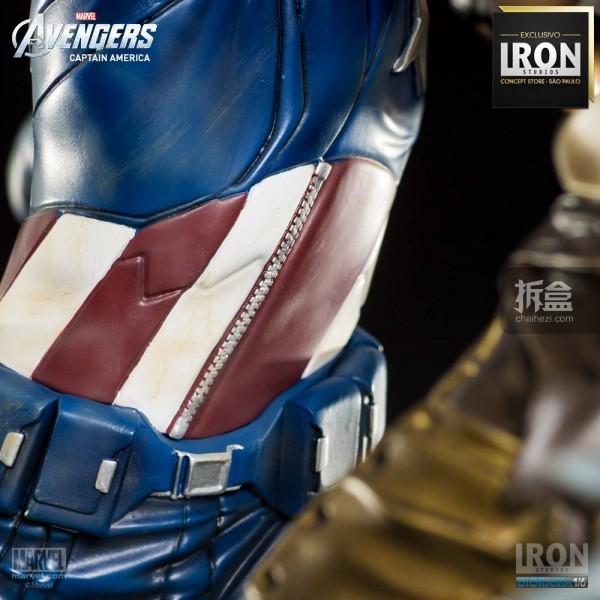 ironstudio-Avengers Captain America Battle-Diorama-015