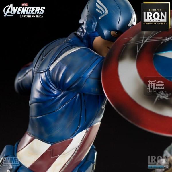 ironstudio-Avengers Captain America Battle-Diorama-018