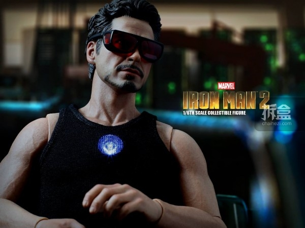 HT-Tony Stark with Arc Reactor-bing-012